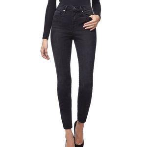 NWT Good American Good Legs Black Jeans Size 00/24